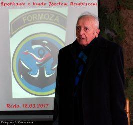 Spotkanie z Panem Komandorem Józefem Rembiszem