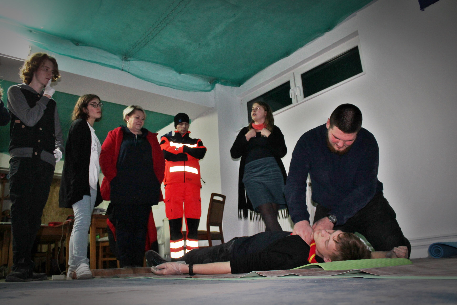Kurs pierwszej pomocy dla harcerzy starszych i wędrowników