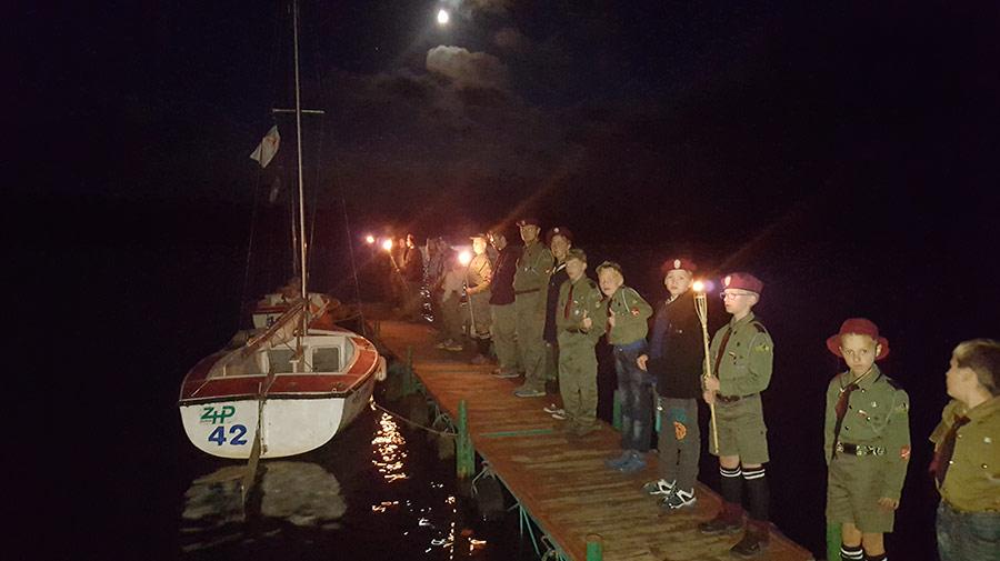 Obóz żeglarsko-harcerski 11 HDCzB